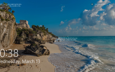 Windows 10 Lock Screen Photos